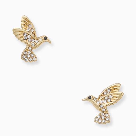 NEW Kate Spade Hummingbird Studs Earrings